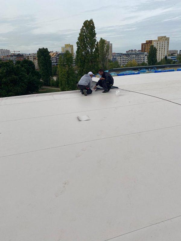 НСА гр. София, FPO покривна мембрана 2800м2